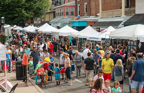 Music, art and More at Doylestown Arts Festival
